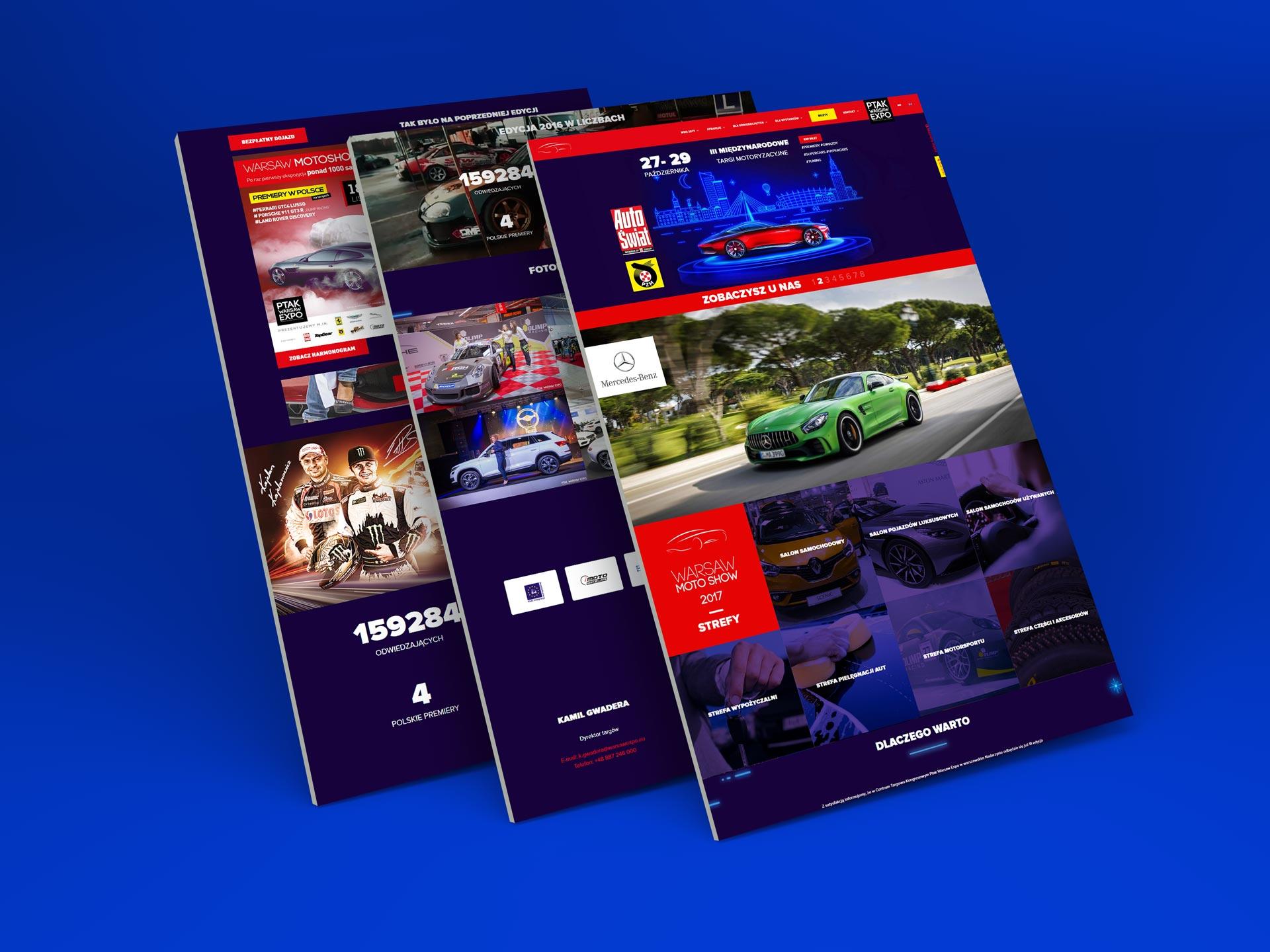Strona internetowa Warsaw Motor Show