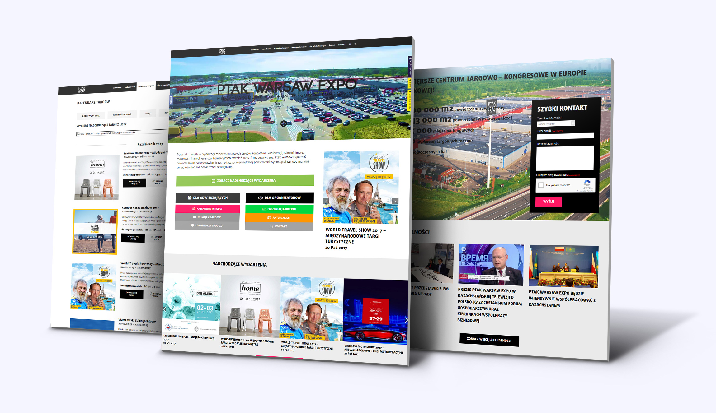Strona internetowa Ptak Warsaw Expo