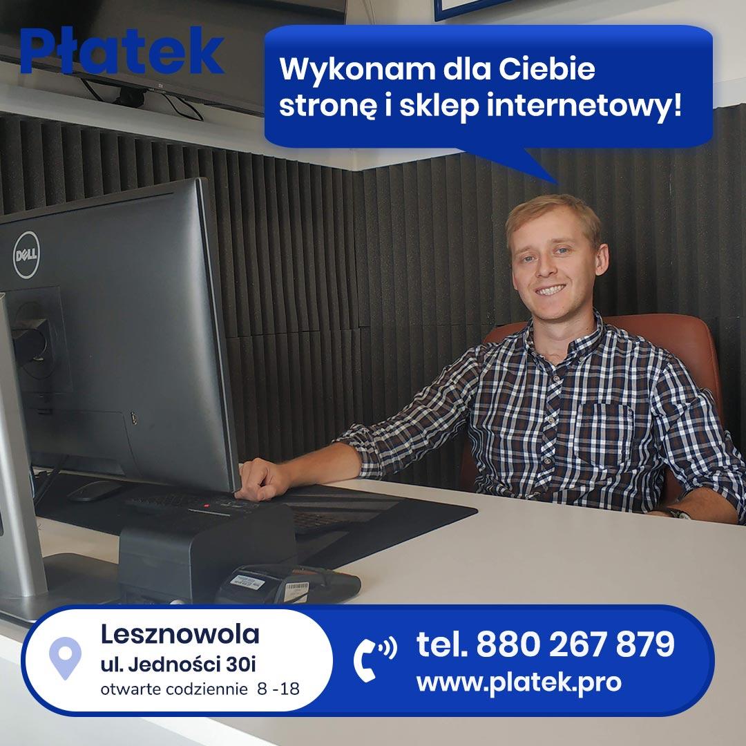 tworzenie strony internetowej